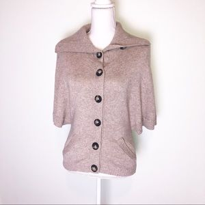 Michael Stars Cashmere Wool Button Up Cardigan